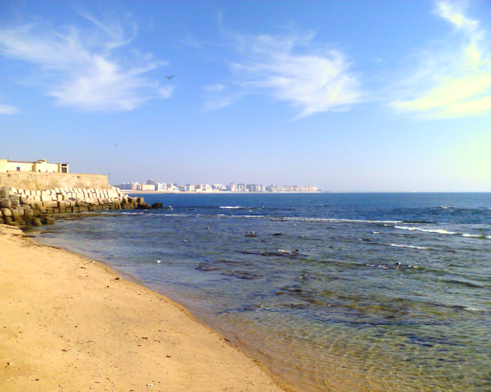 Cadiz from the Beach