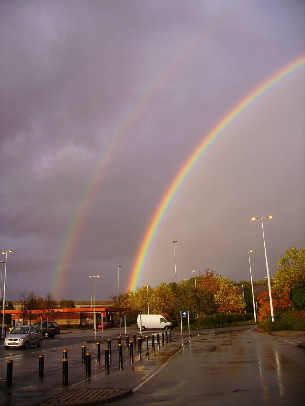 A Petrol Station at the End of the Rainbow