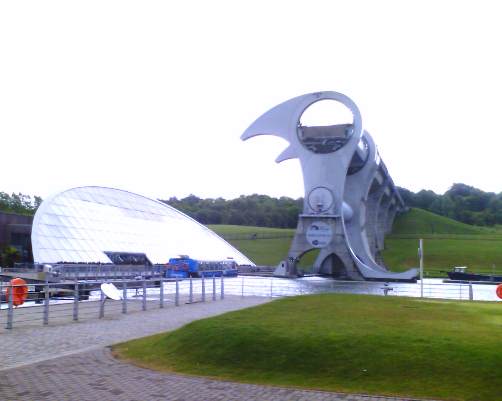 Falkirk Wheel at Rest