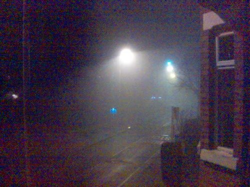 Foggy Christmas Night